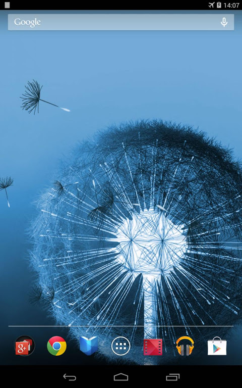 Dandelion Live Wallpaper 2.0.3 Screen 4