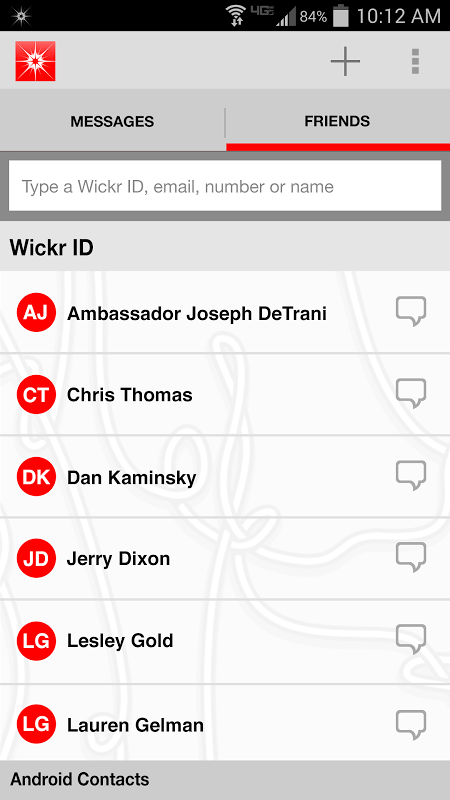 wickr android 4.4.2