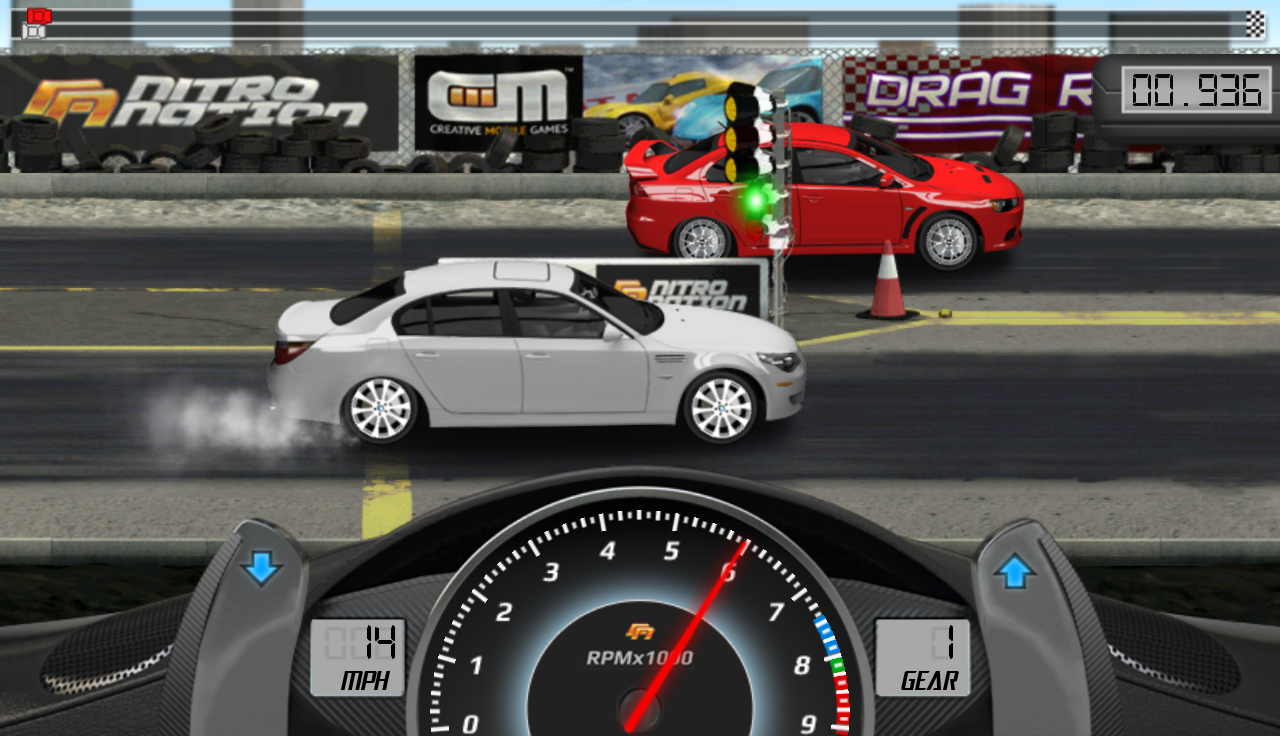 Drag Racing 1.7.51 Screen 1