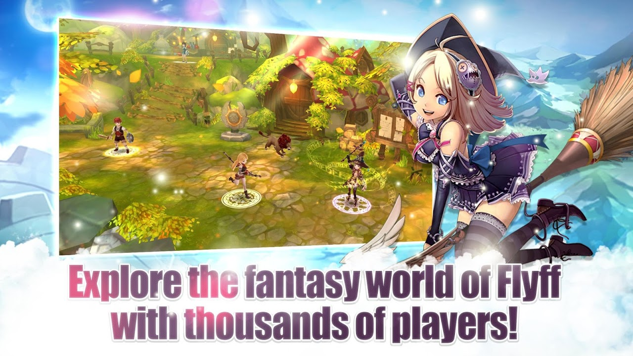 Flyff Legacy - Anime MMORPG 3.1.72 Screen 2