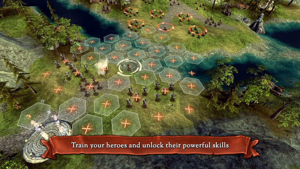 Android Hex Commander: Fantasy Heroes Screen 6