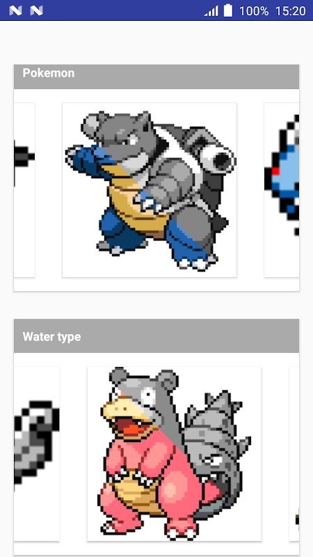 Android Color by Number Pokemon Pixel Art Screen 3