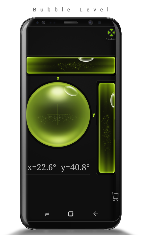 Android Bubble Level Screen 2