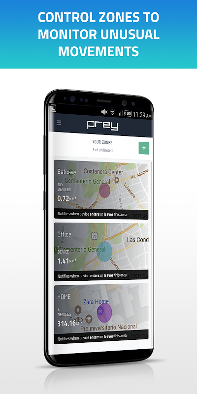Prey Anti Theft: Find My Phone & Mobile Security 1.9.9 Screen 5