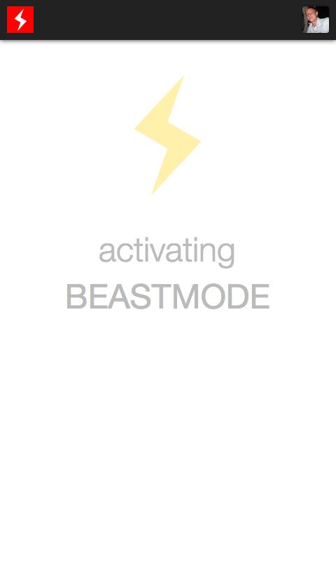 Android BEASTMODE.FM® internet radio Screen 2