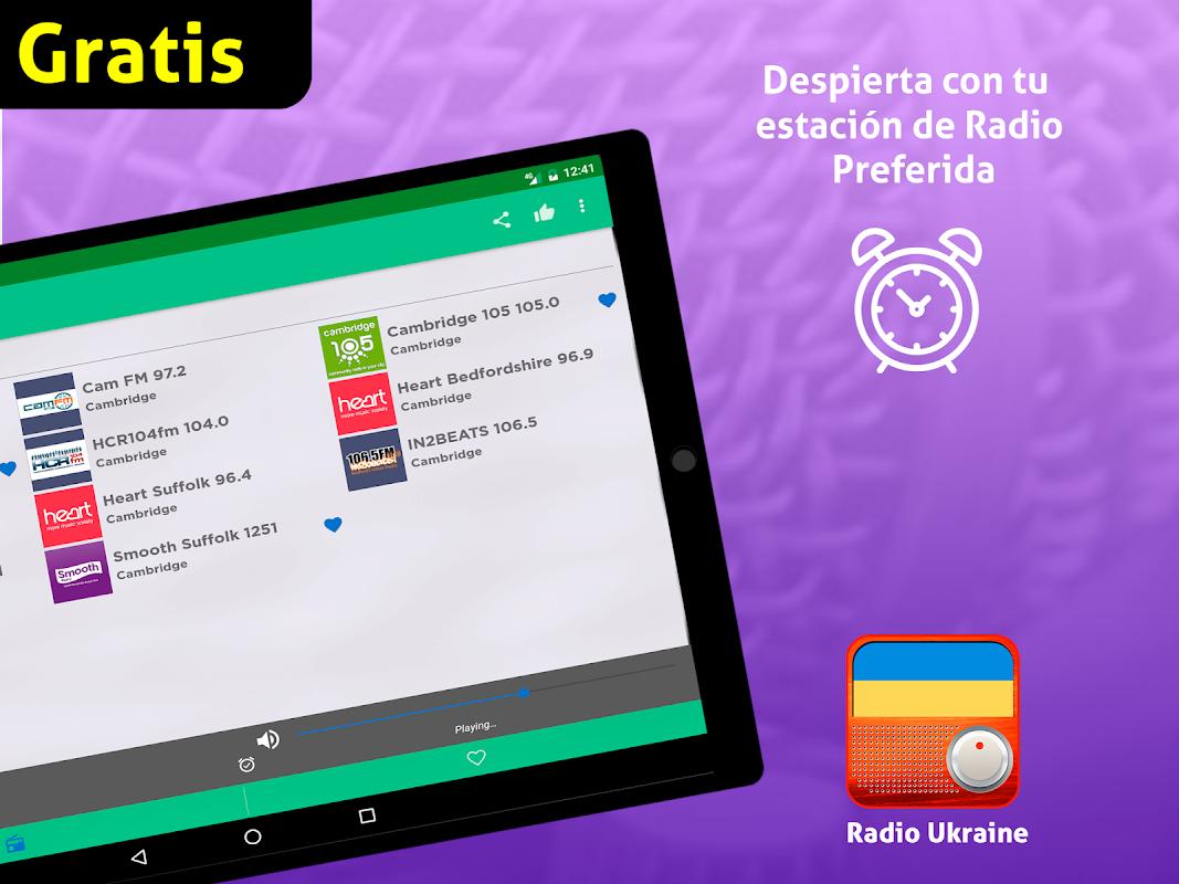 Android Free Ukraine Radio AM FM Screen 12