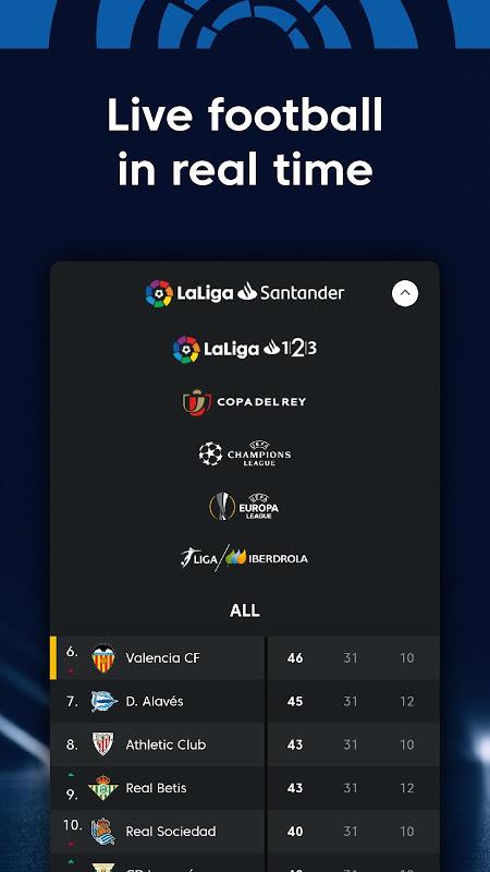La Liga - Spanish Football League Official 7.3.8 Screen 4