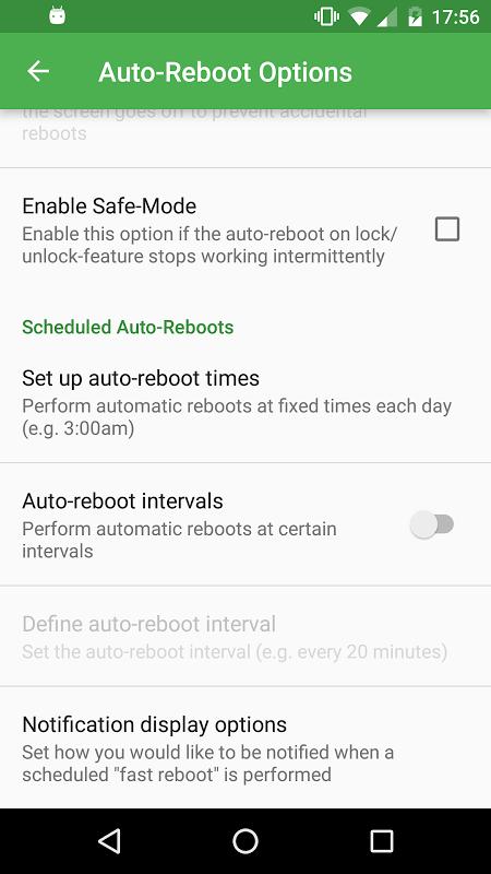 Fast Reboot Pro 5.2 Screen 4