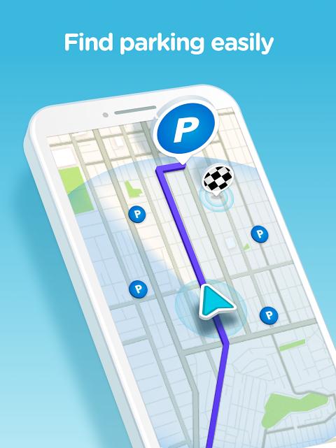 Android Waze - GPS, Maps, Traffic Alerts & Sat Nav Screen 8