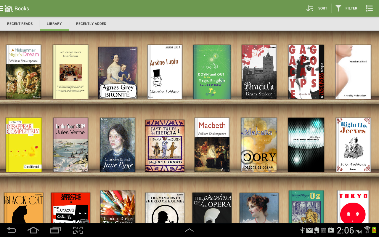 Aldiko Book Reader 3.1.3 Screen 1