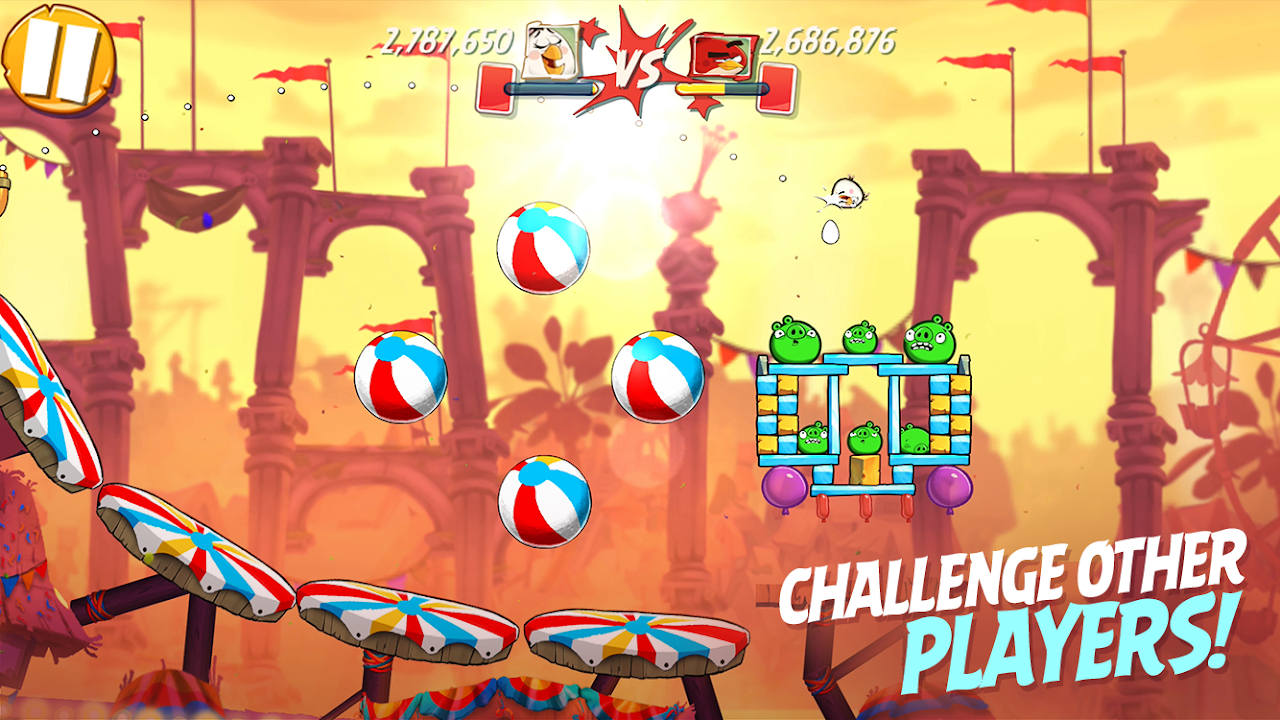 Android Angry Birds 2 Screen 1