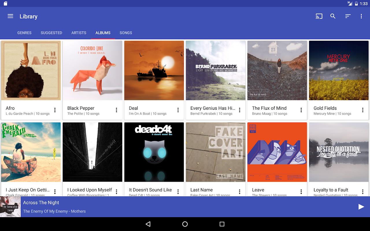 Shuttle+ Music Player 2.0.7-beta1 Screen 7