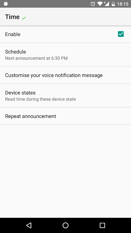 Shouter - Notification Reader 3.91 Screen 3