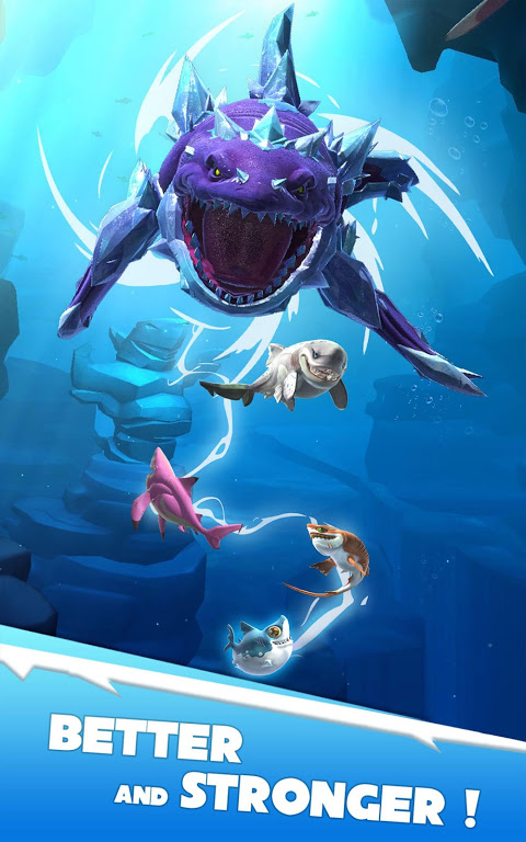 Android Hungry Shark Heroes Screen 9