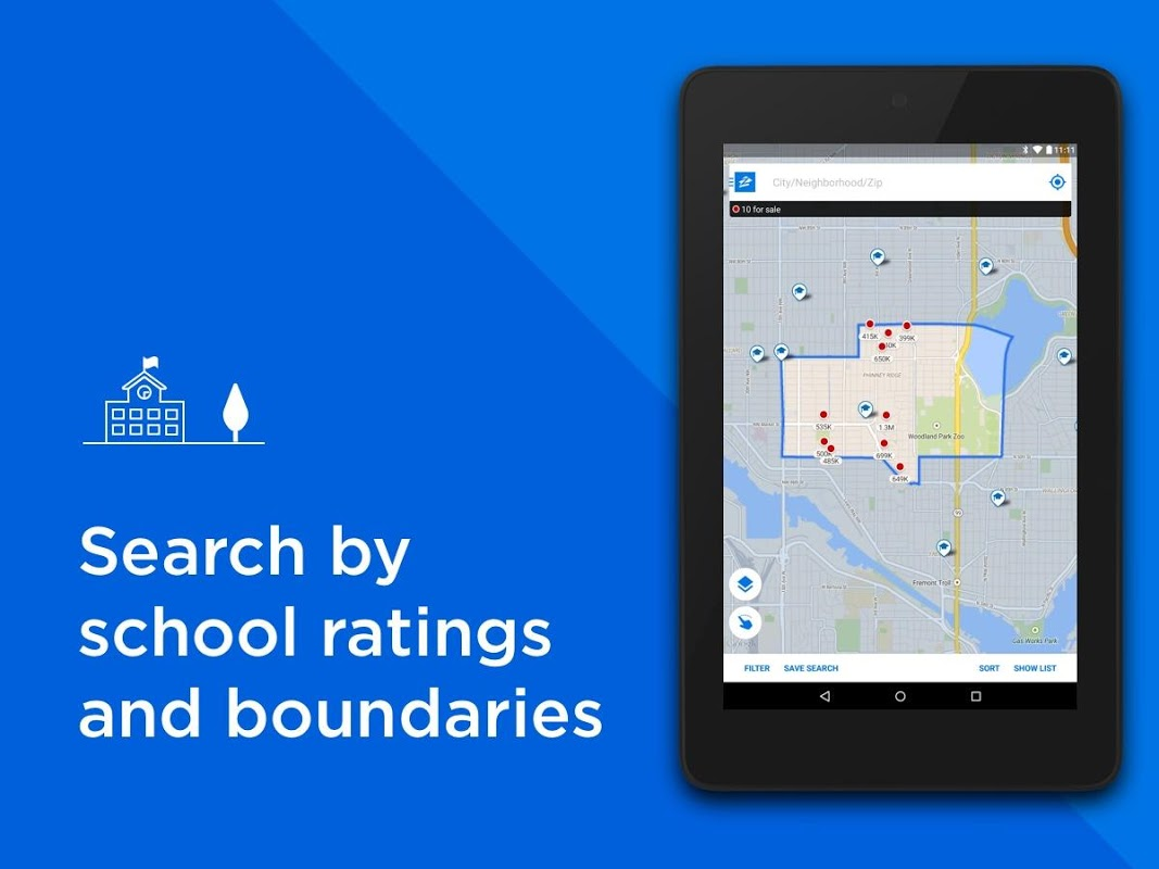 Android Zillow: Find Houses for Sale & Apartments for Rent Screen 7