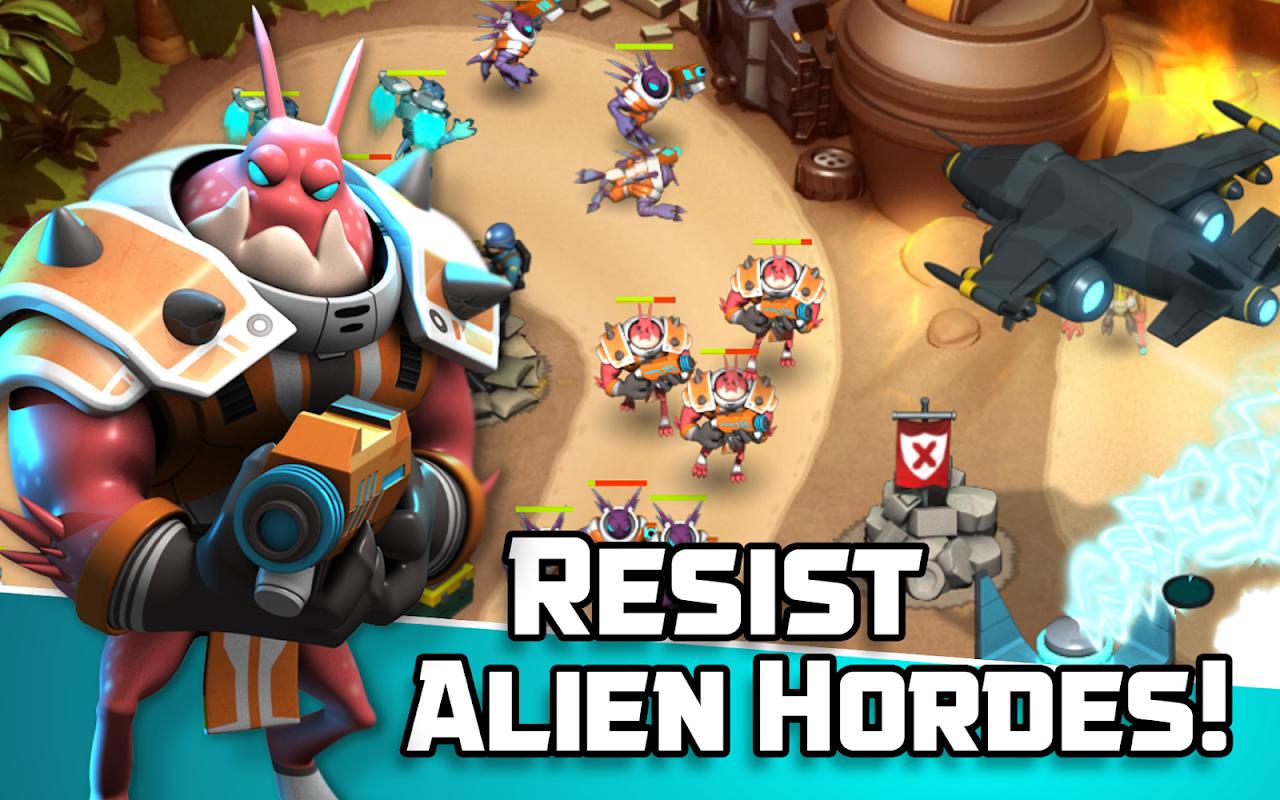 Alien Creeps TD - Epic tower defense 2.27.0 Screen 2