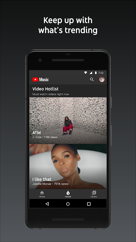YouTube Music - Stream Songs & Music Videos 3.37.55 Screen 3