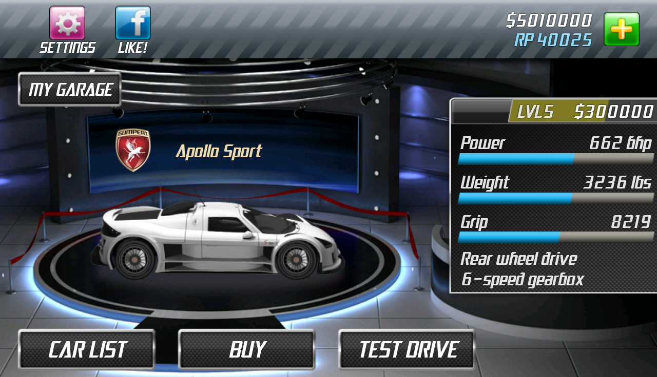 Drag Racing 1.7.51 Screen 2