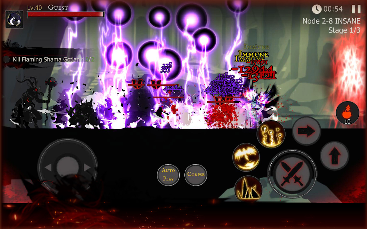 Shadow of Death: Dark Knight - Stickman Fighting 1.42.0.3 Screen 10