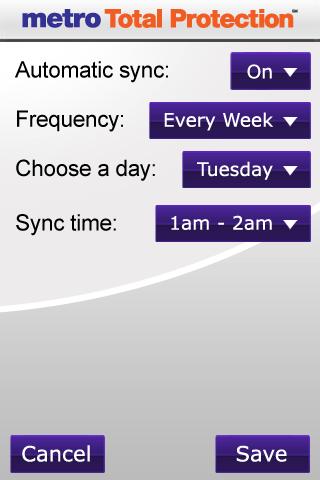 Metro Total Protection App 2.36 (125844) Screen 2