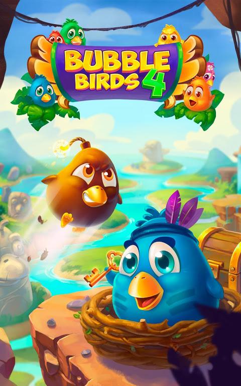 Bubble Birds 4 - Rescue Falling Funny Birds 2.4.1 Screen 3