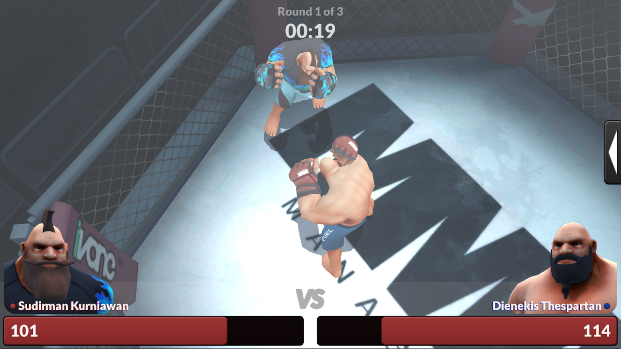 MMA Manager 0.8.4 Screen 6