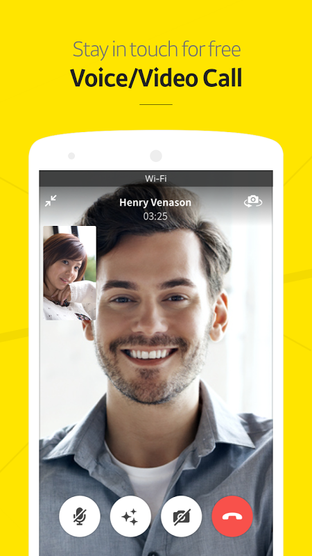 Android KakaoTalk: Free Calls & Text Screen 3