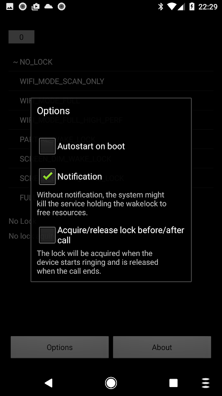 Wake Lock - PowerManager 2.5-f Screen 3