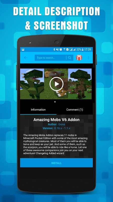 Mods & Addons for Minecraft PE 1.16.1 Screen 1