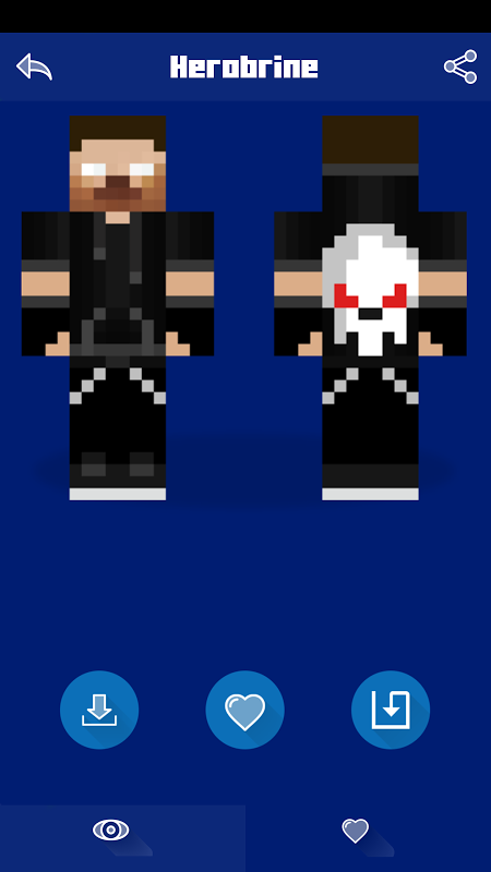 Android Herobrine Skins Screen 3