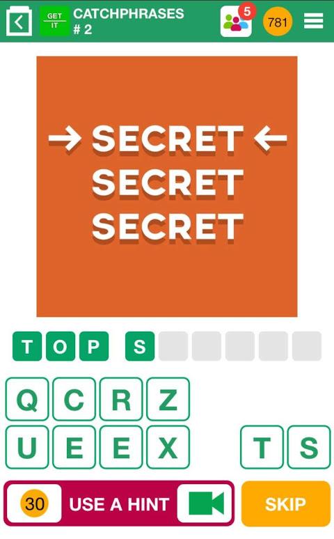 100 PICS Quiz - guess the picture trivia games 1.5.2.3 Screen 2