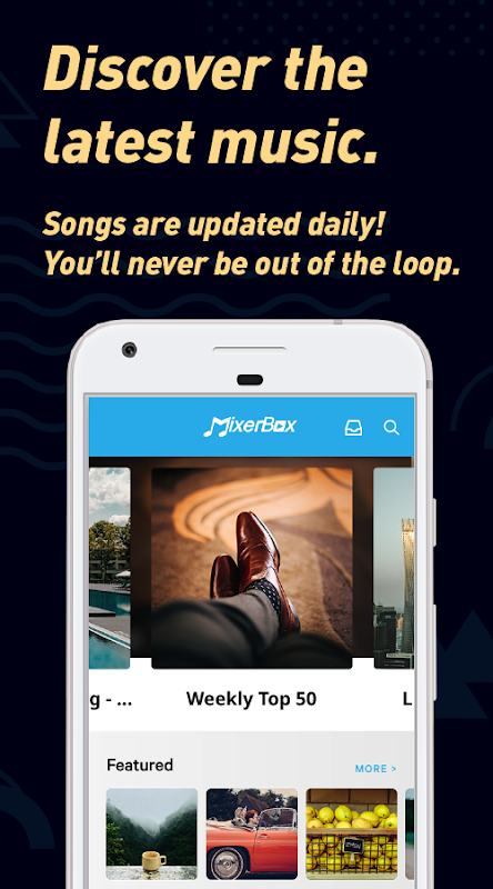 (Download Now)Free Music MP3 Player - MixerBox PRO 9.46 Screen 1