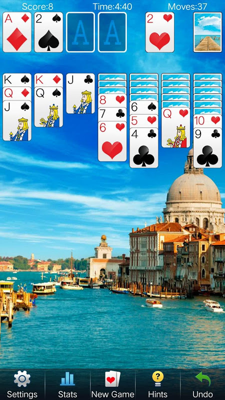 Solitaire Card Games 4.3.9 Screen 1