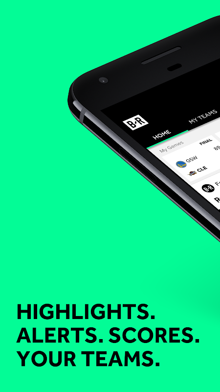 Android Bleacher Report Screen 3