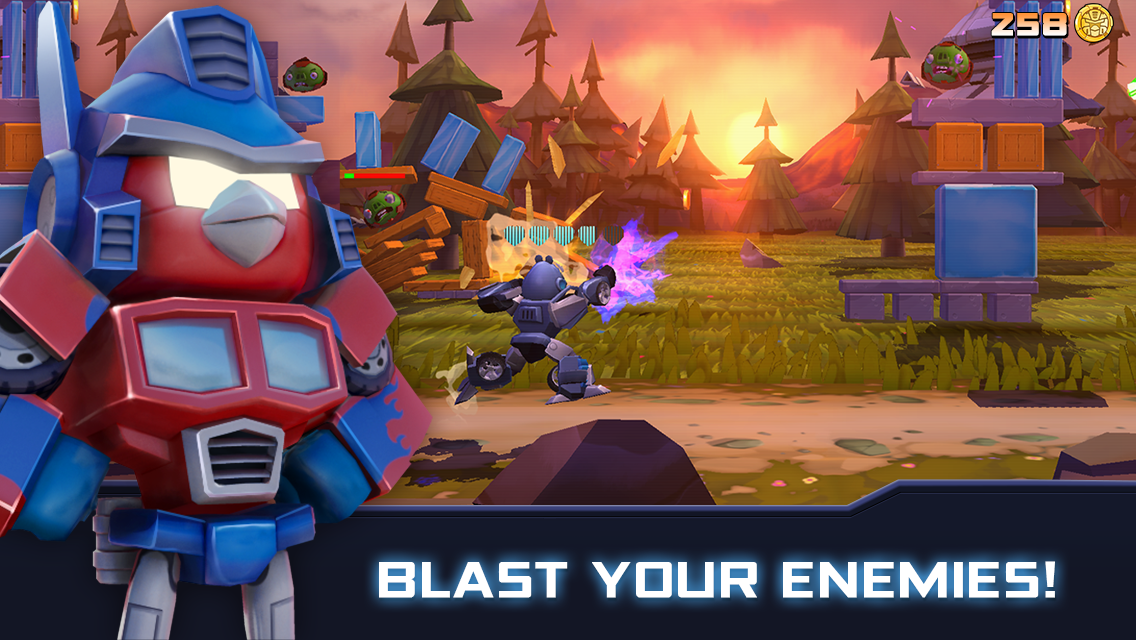 Angry Birds Transformers 1.35.8 Screen 1