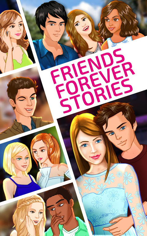 Android Friends Forever Stories Screen 8