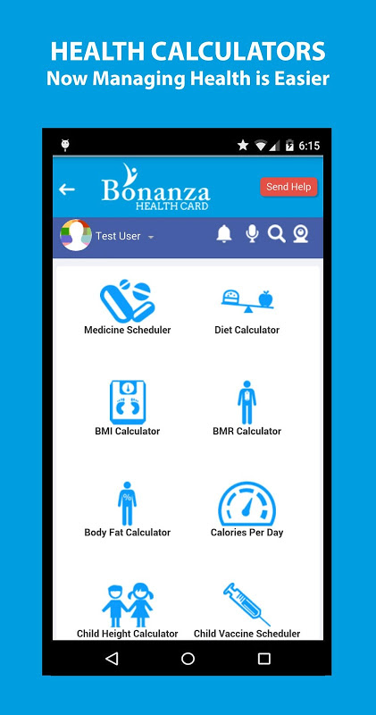 Android Bonanza Health Screen 4