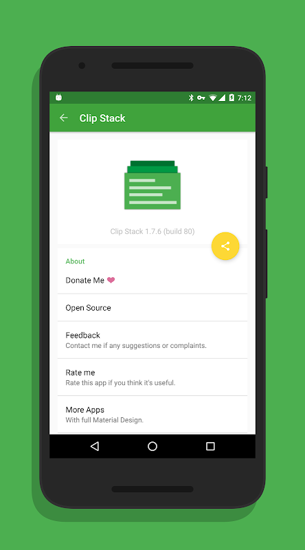 Clip Stack - Clipboard Manager 1.9.2 Screen 6