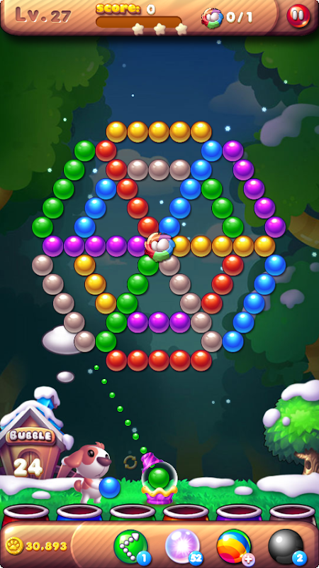 Android Bubble Bird Rescue 2 - Shoot! Screen 19
