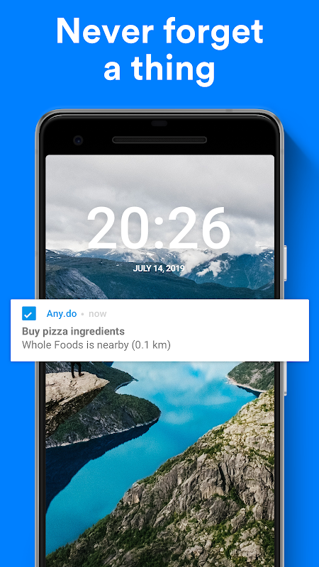 Any.do: To-do list, Calendar, Reminders & Tasks 4.12.0.5 Screen 2