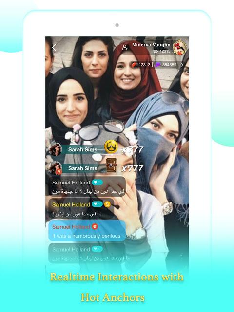7Nujoom– Live Stream Video Chat & Random Chat Room 5.9.0 Screen 6