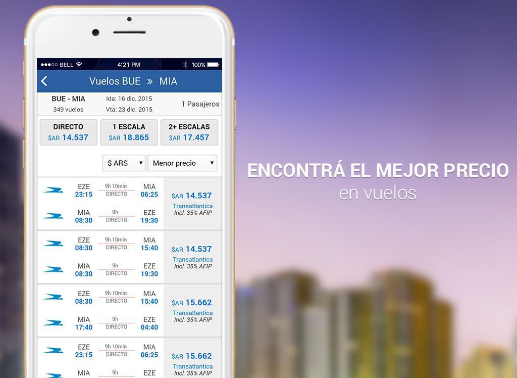 Android Turismocity Vuelos Baratos Screen 8