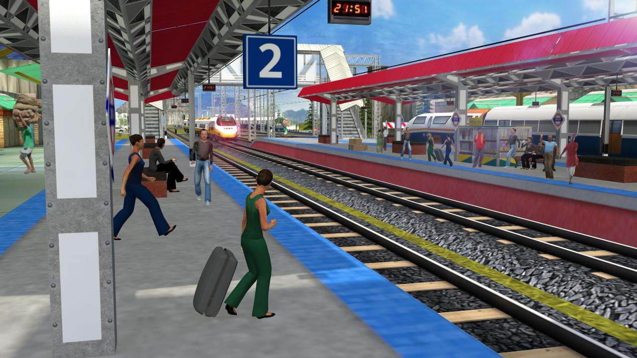 Indian Bullet Train Simulator 1.6 Screen 2