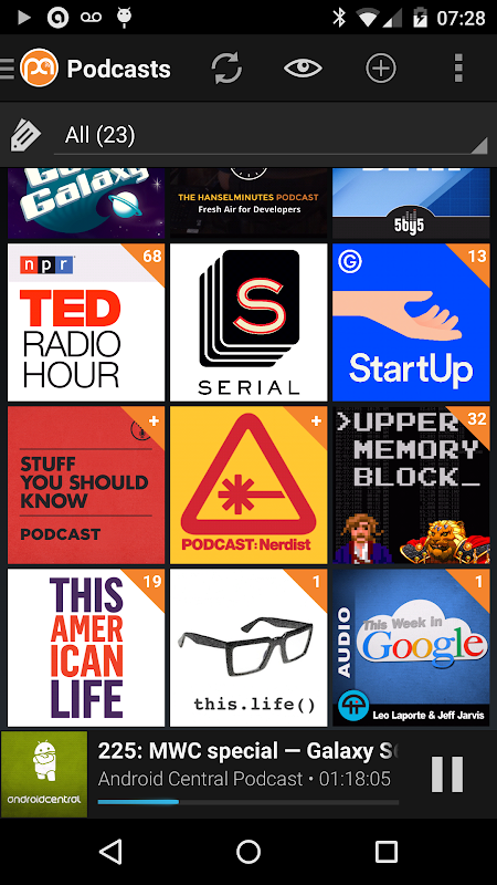 Podcast Addict (Android 2 3) 2 31 5 APK Download by Xavier