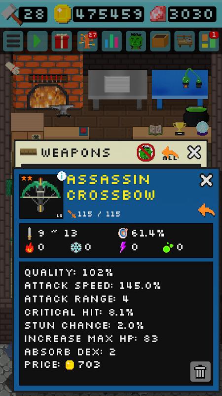 Android Goblin's Shop Screen 3