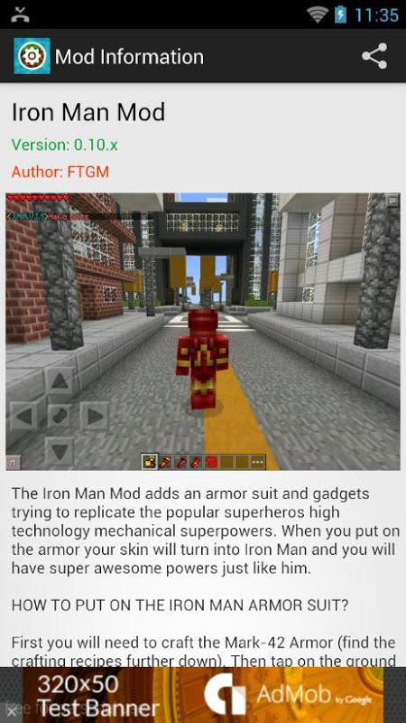 Mods for Minecraft PE 1.9.1 Screen 2