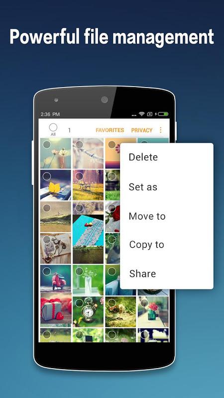 Photo Gallery & Album 2.0.5 Screen 3