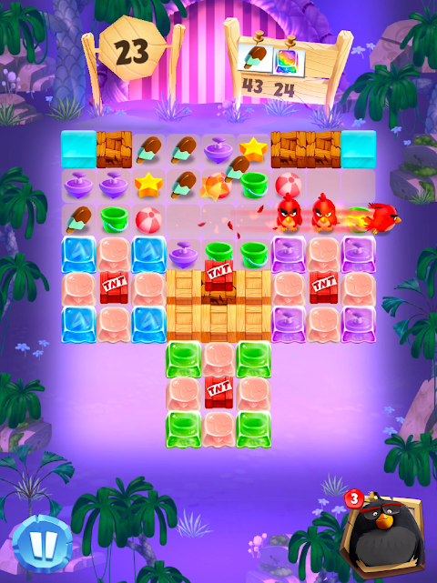Android Angry Birds Match Screen 12