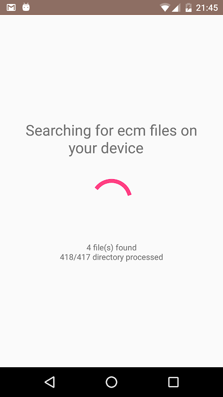 Android Unecm Screen 3