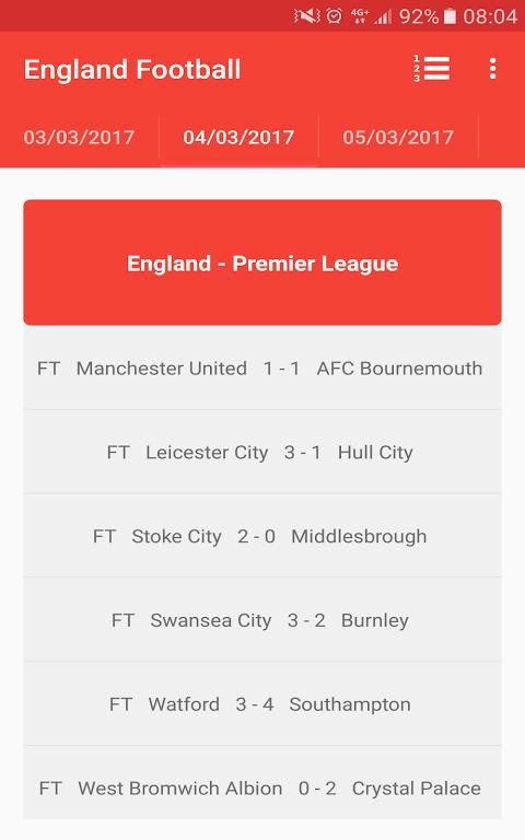 English Premier League 3.0 Screen 16